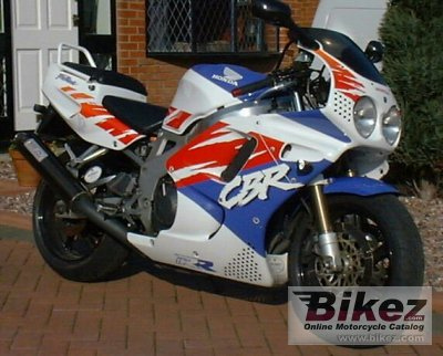 1992 Honda CBR 900 RR (reduced effect)